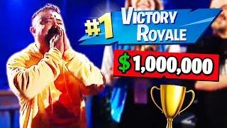 Père Obtient EMOTIONAL Après avoir remporté 1 000 000 $ Fortnite Tournoi (fr) Moments drôles quotidiens de Fortnite