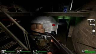 HD Left 4 Dead - Weird Glitch and me pwning