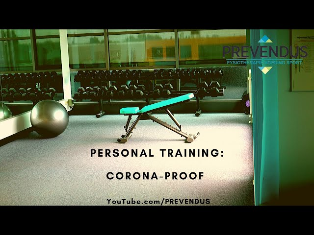 Personal Training Corona Proof