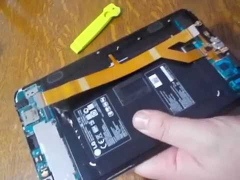 Démontage LG G PAD 8.3 V500 Methode simple !