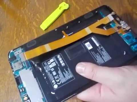 Démontage LG G PAD 8 3 V500 Methode simple !