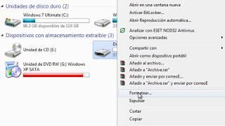 como hacer booteable una usbpara windows xp +divers sata
