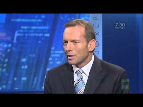Tony Abbott thinks the earth is flat thumbnail