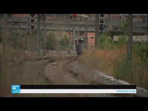 مهاجرون يحاولون عبور الحدود الإيطالية الفرنسية على الأقدام  - نشر قبل 2 ساعة