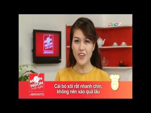 MON NGON MOI NGAY CAI BO XOI XAO THIT