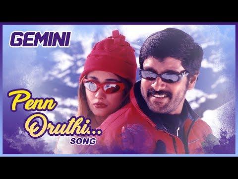 Latest Tamil Hits | Penn Oruthi Video Song | Gemini Tamil Movie Songs | Vikram | Kiran | Bharathwaj