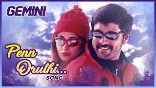 Latest Tamil Hits | Penn Oruthi Video Song | Gemini Tamil Movie Songs | Vikram | Kiran | Bharathwaj