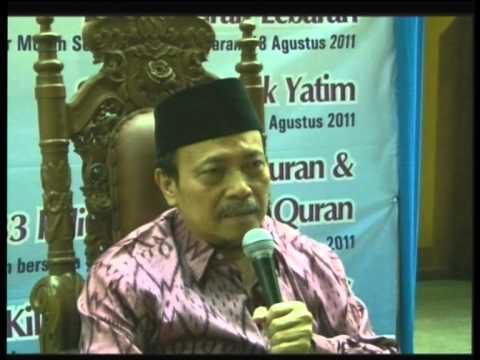 Prof. Dr. KH. Muh. Amin Summa, SH, MH - Ceramah Tarawih 2011-08-24