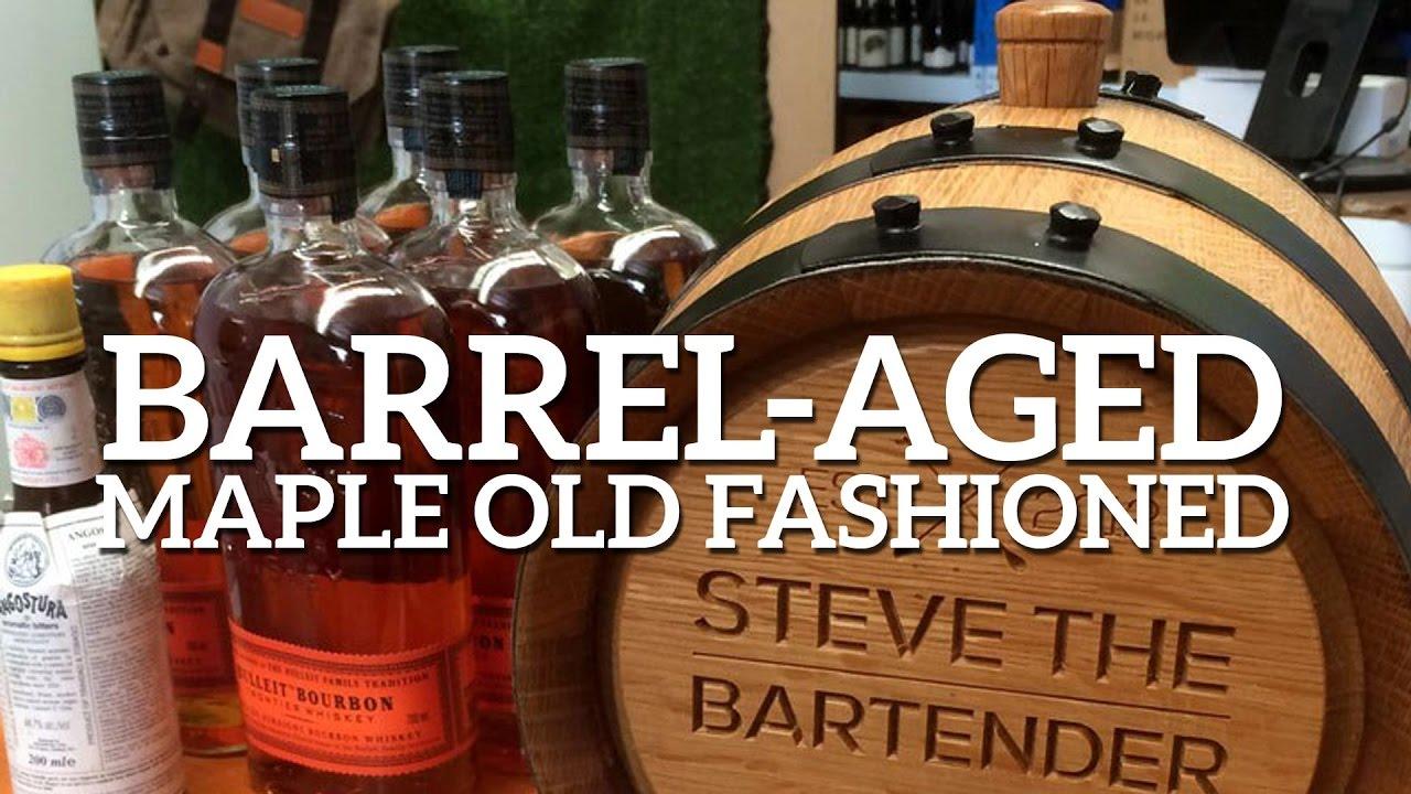 Barrel Aged Maple Fashioned Cocktail Recipe