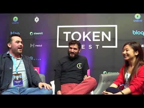 Jaxx|Decentral Interview at Token Fest 2018