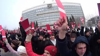 ПЕРМЬ 24.12.2017г. НАВАЛЬНЫЙ будущий президент РОССИИ.