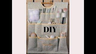 DIY organizer for bathroom -органайзер для ванной комнаты