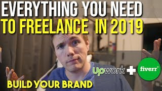 EVERYTHING YOU NEED TO BE A FREELANCER IN 2019 (Build your brand!) #grindreel #garyvee