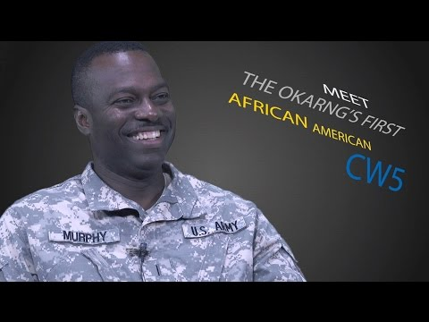 First African American promoted to Chief Warrant Officer 5 in the Oklahoma Army National Guard