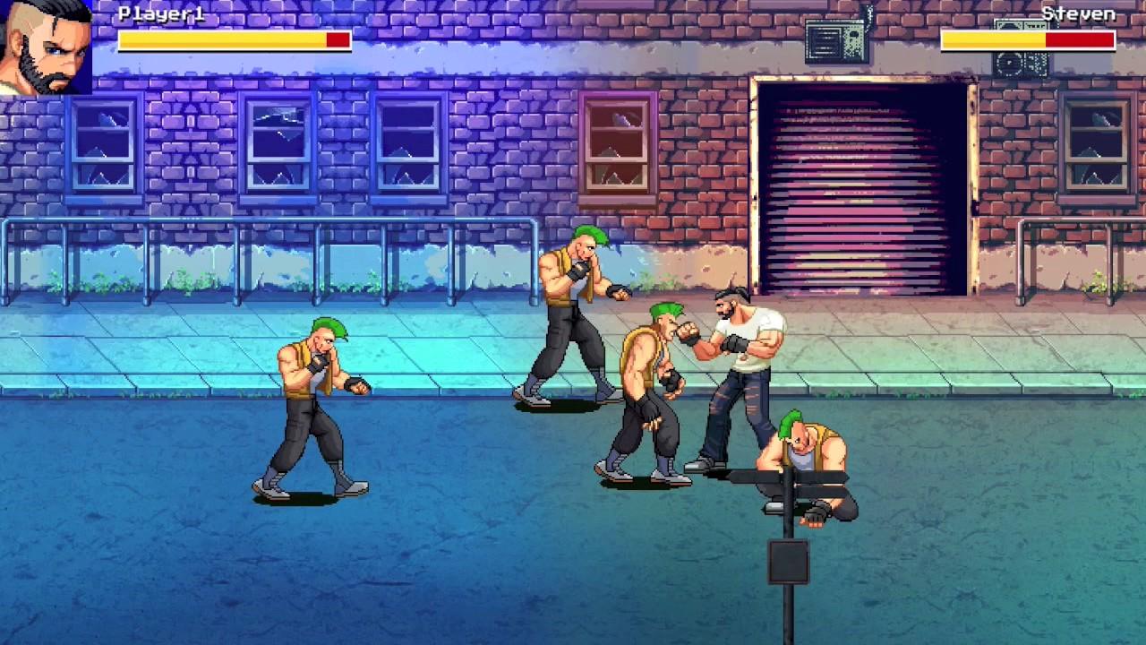 beat em up game engine
