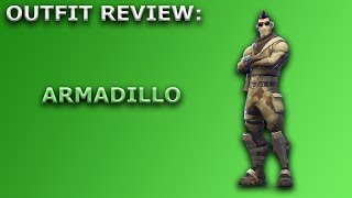 Armadillo Outfit Review + Skin Showcase! ~ Fortnite Battle Royale