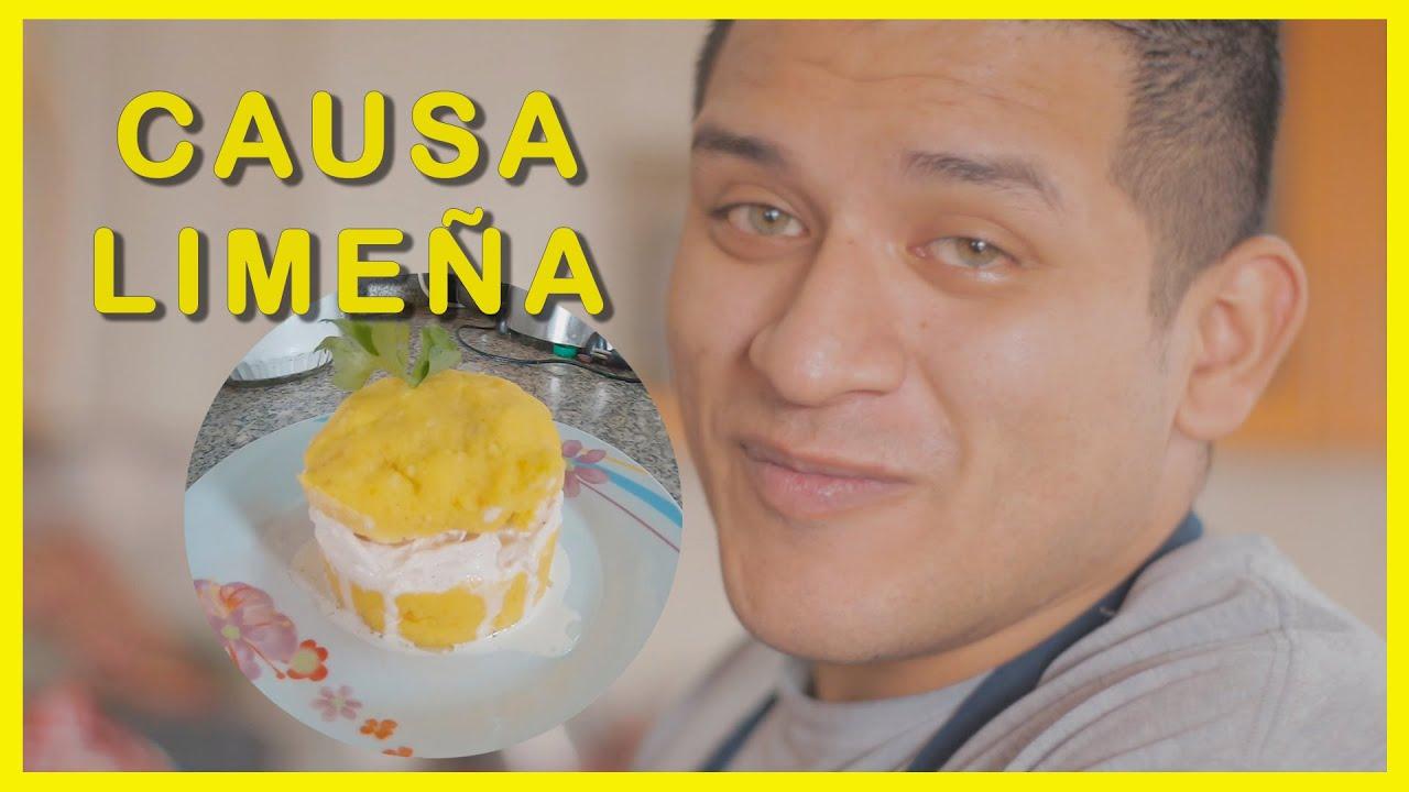Como preparar CAUSA LIMEÑA rápido y FÁCIL - Comida Peruana