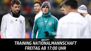 ReLIVE 🔴 | Training der Nationalmannschaft | WM 2018 | SPORT1