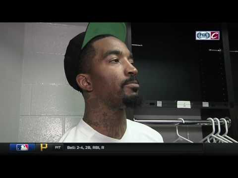 J.R. Smith's priceless reaction to finding out LeBron isn't NBA MVP finalist