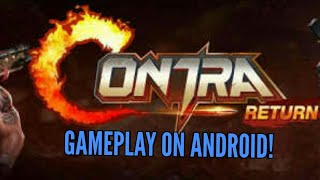 Contra:Return Gameplay on Android