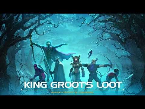 King Groot's Loot Motion Comic | Marvel Contest of Champions