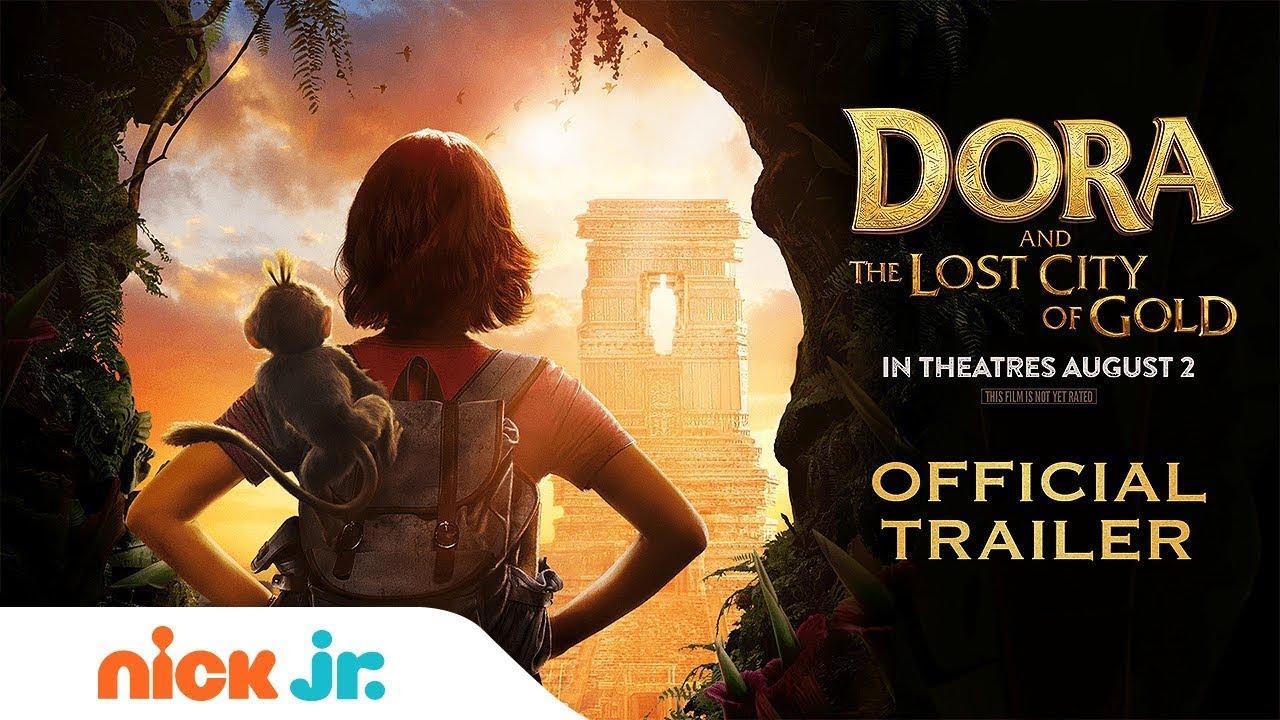Dora the Explorer's NEW Movie: Dora & the Lost City of Gold   Official Trailer   Nick Jr.