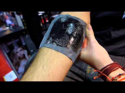 Real Matte Tattoo Application