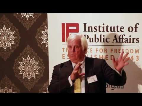 Professor Ian Plimer speaks to the IPA on his new book