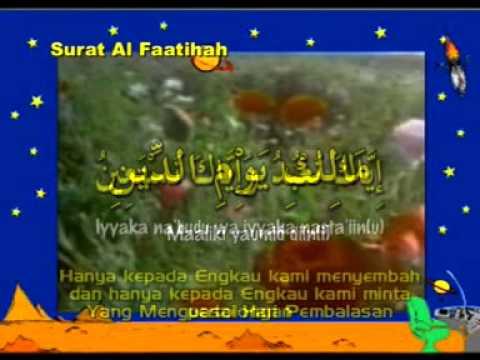 Surat Al fatihah dan Doa sebelum belajar