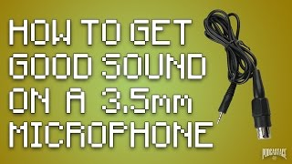 How to Improve Audio From a 3.5mm Microphone