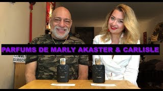Parfums de Marly Akaster & Carlisle Fragrance REVIEW with Olya + GIVEAWAY (CLOSED)