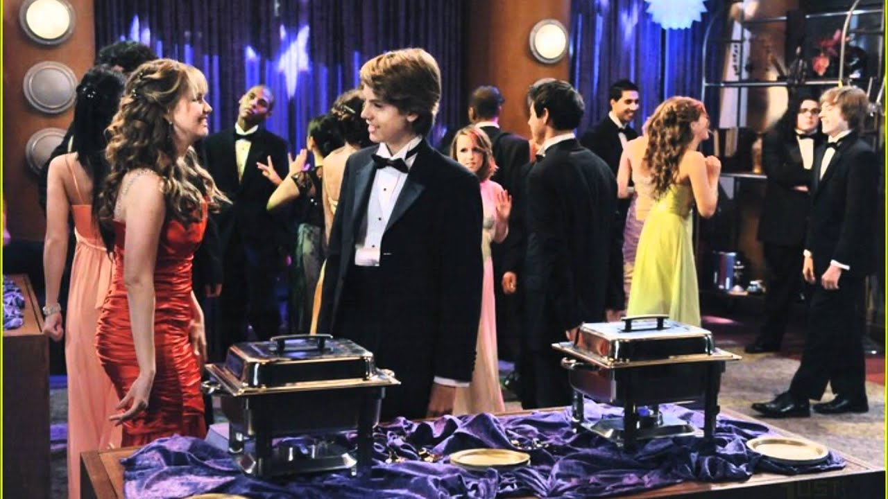 The suite life on deck prom night - YouTube