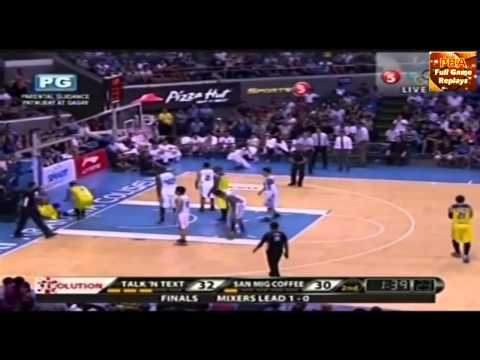 Jayson Castro Highlights 30pts 4stls 5 3s vs San Mig Coffee Commissioners Cup Finals G2