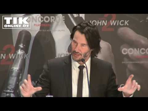 """John Wick 2"": Keanu Reeves press conference in Berlin - FULL LENGTH!"