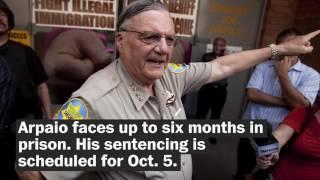 Former sheriff Joe Arpaio convicted of criminal contempt