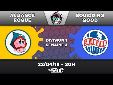 Ligue EBTV  - Alliance Rogue vs Squidding Good (Division 1)