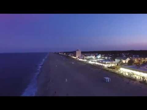 Rehoboth Beach Boardwalk 4K