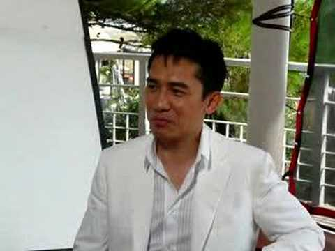 Tony Leung in Venice - Interview 1