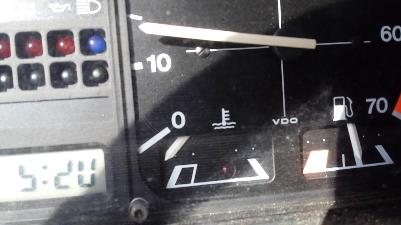 1985 Vw Cabriolet Automatic Dash And Gauges Youtube 1987 Fuse Box