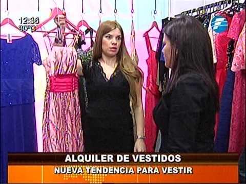 Alquiler de vestidos elegantes en san lorenzo