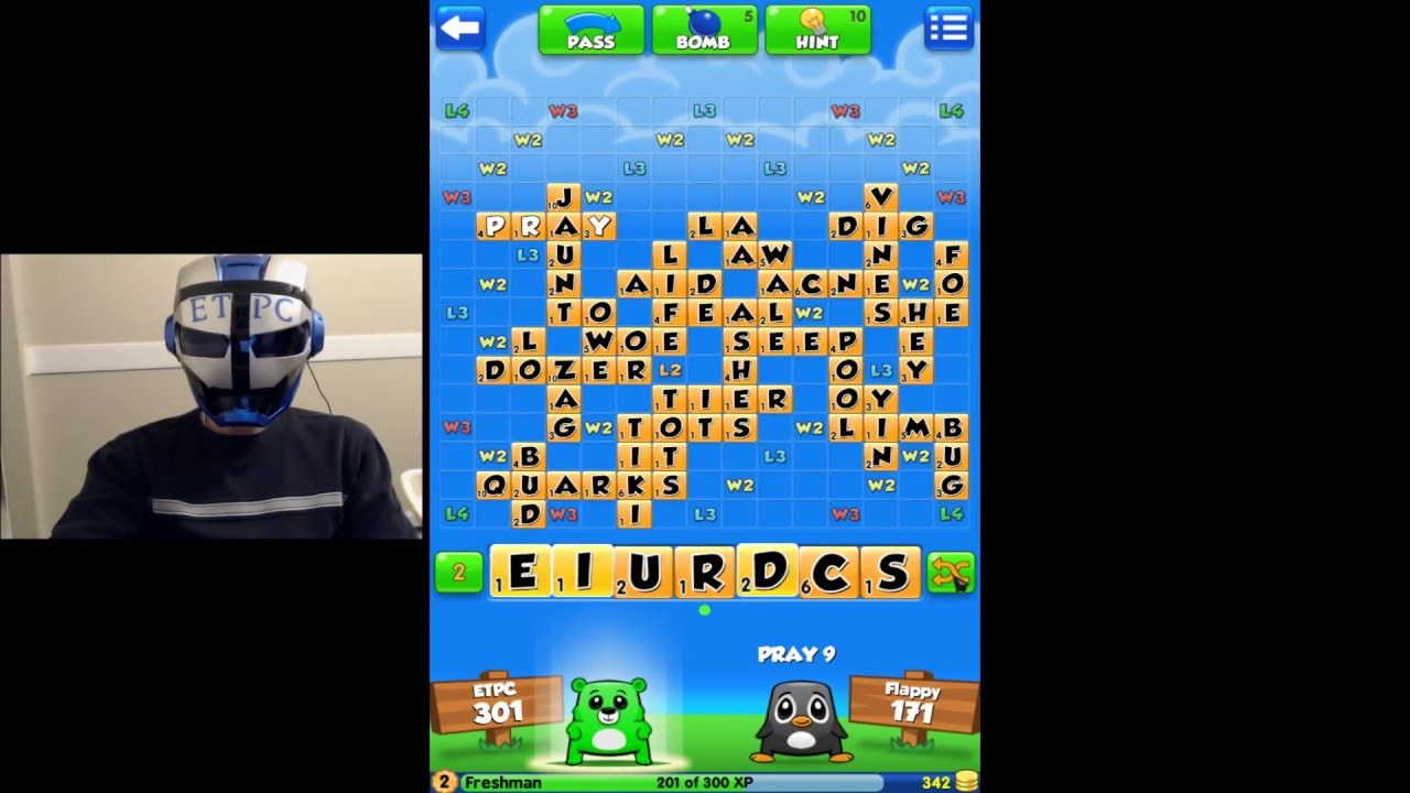 First Time Playing Word Chums Fun Game - Youtube-7566