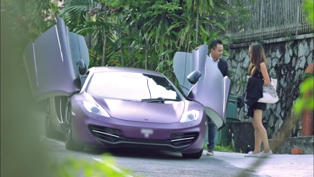Picking Up Uber Riders With A Mclaren Autobuzz My Youtube