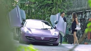 picking up uber riders with a mclaren autobuzz my