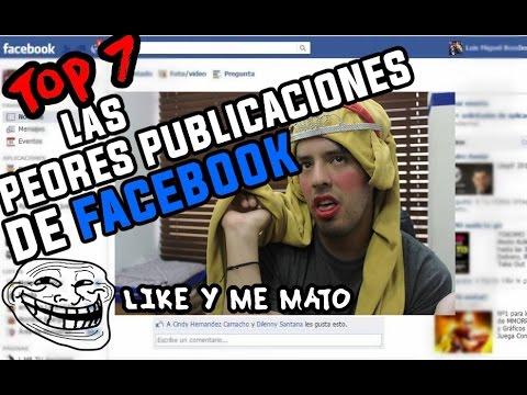 LAS PUBLICACIONES DE FACEBOOK MAS ESPANTOSAS! │ @brunoacme