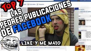LAS PUBLICACIONES DE FACEBOOK MAS ESPANTOSAS! ¦ @brunoacme