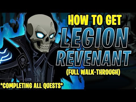 AQW - LEGION REVENANT CLASS FULL Walkthrough! (INSANE FARMING QUESTS!)