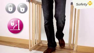 Safety 1st Easy Close Wood Baby Gate