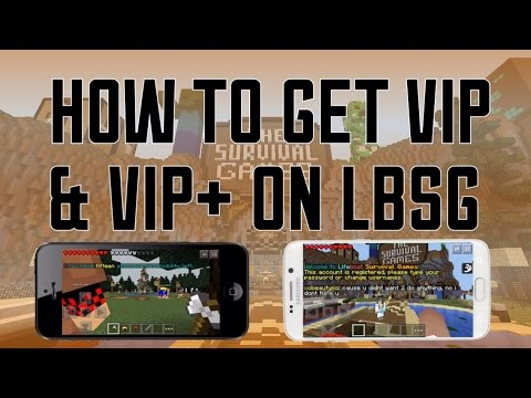 How to get VIP & VIP+ on LBSG   (Minecraft Pocket Edition) IOS & Android Tutorial! 0.12 - 0.13.0