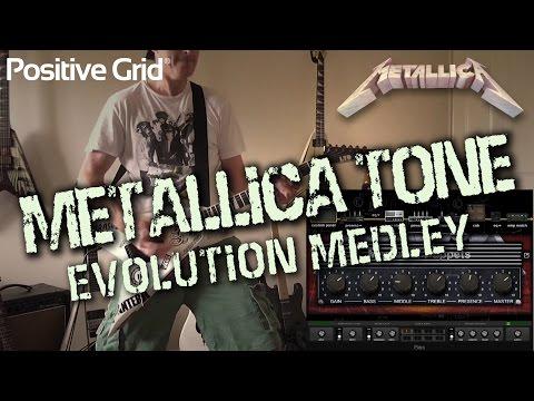 Metallica Tone Evolution Medley (Kill 'em to Black)