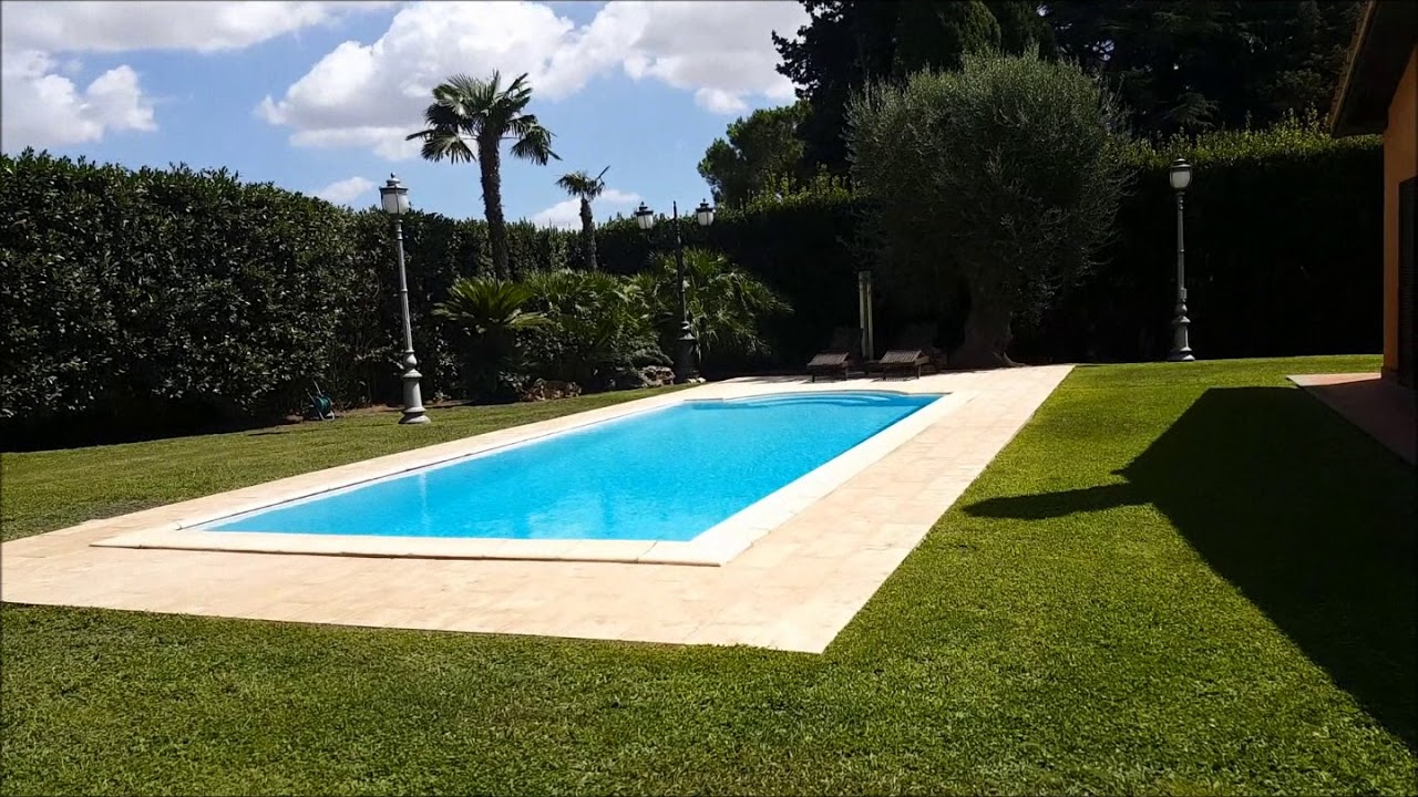 Italy roma vendita villa olgiata con piscina youtube - Villa con piscina roma ...